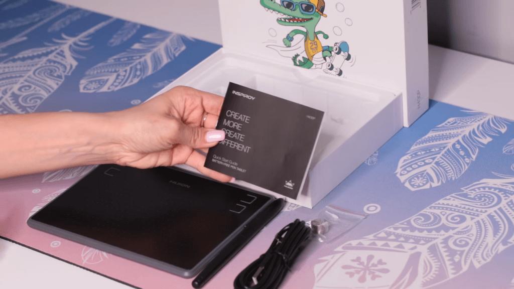 Huion H430P — Графические планшеты
